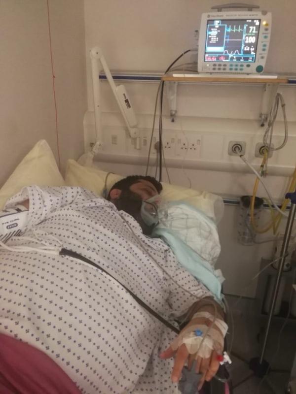 تركي آل الشيخ في المستشفى