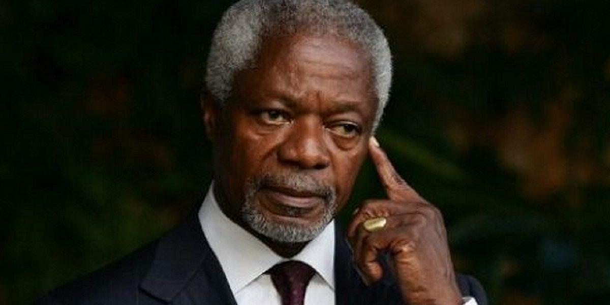 رحيل كوفي عنان الأمين العام للأمم المتحدة عن عمر 80 سنة
