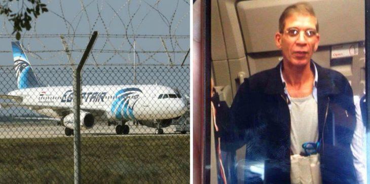 مصر تتسلم المتهم باختطاف الطائرة المصرية من قبرص