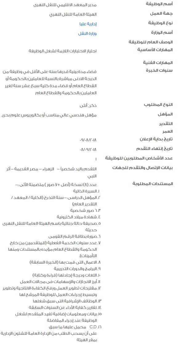 وظائف الحكومة المصرية بالتفاصيل وموعد التقديم والأوراق المطلوبة 2
