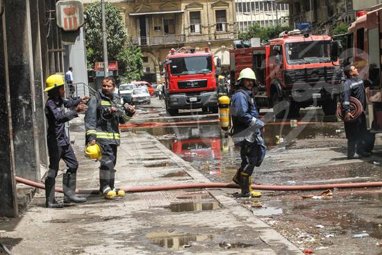 """عاجل.. كارثة جديدة تضرب """"وسط البلد"""".. والحماية المدينة ترفع حالة الطوارئ"""