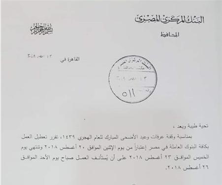 شاهد.. قرار عاجل من البنك المركزي المصري لجميع البنوك الرسمية ويهم جميع المتعاملين معها 2