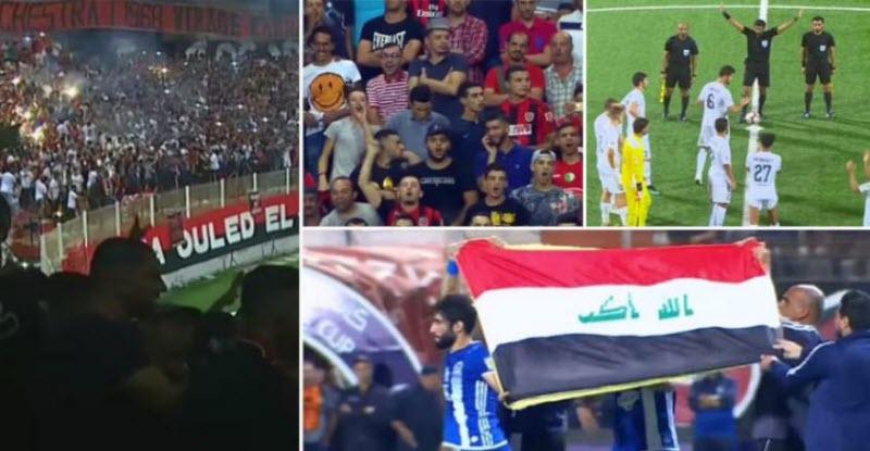 بوادر أزمة دبلوماسية بين العراق والجزائر بسبب مباراة لكرة القدم