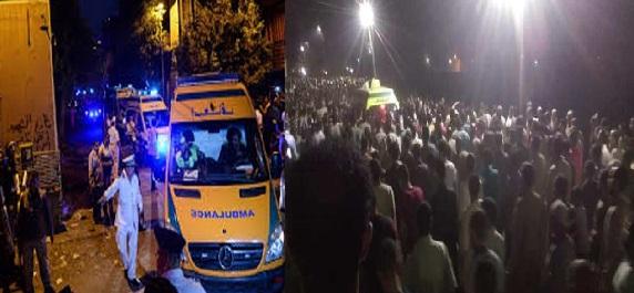 """""""بالأسماء"""" 4 رجال و13 سيدة.. قتيلين و15 مصاب في حادث الإسكندرية اليوم"""