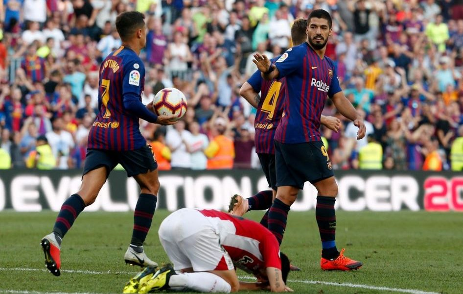 برشلونة يواصل إهدار النقاط بالتعادل مع بلباو