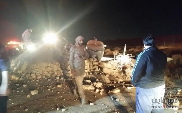 سقوط طائرة أمريكية من طراز بوينج 767 وتحطمها في الخليج بالقرب من مطار جورج بوش ومقتل جميع ركابها