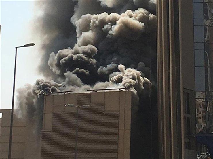 عاجل.. حريق هائل يلتهم أحد البنوك الشهيرة.. وإستمر لمدة 3 ساعات وخسائر تقدر بالملايين !!
