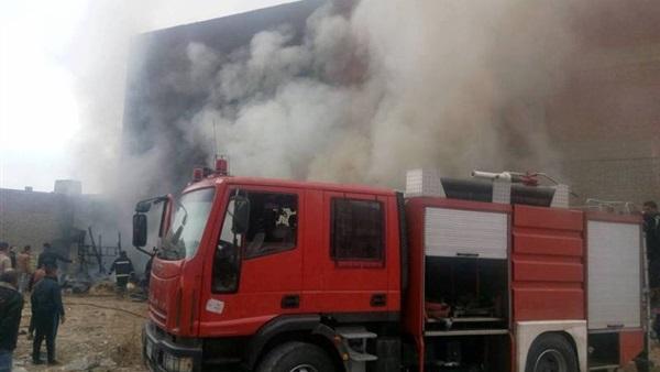 """حريق هائل في محيط """"محكمة المنوفية"""" منذ قليل.. وبيان رسمي يكشف حجم الخسائر الفادحة"""