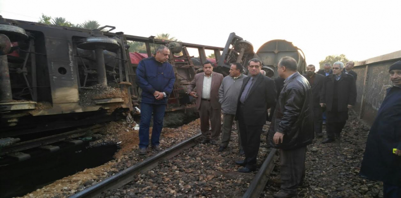 """عاجل.. أول بيان رسمي حول حادث """"قطار القاهرة"""" منذ قليل.. وحقيقة وجود ضحايا أو مصابين !"""