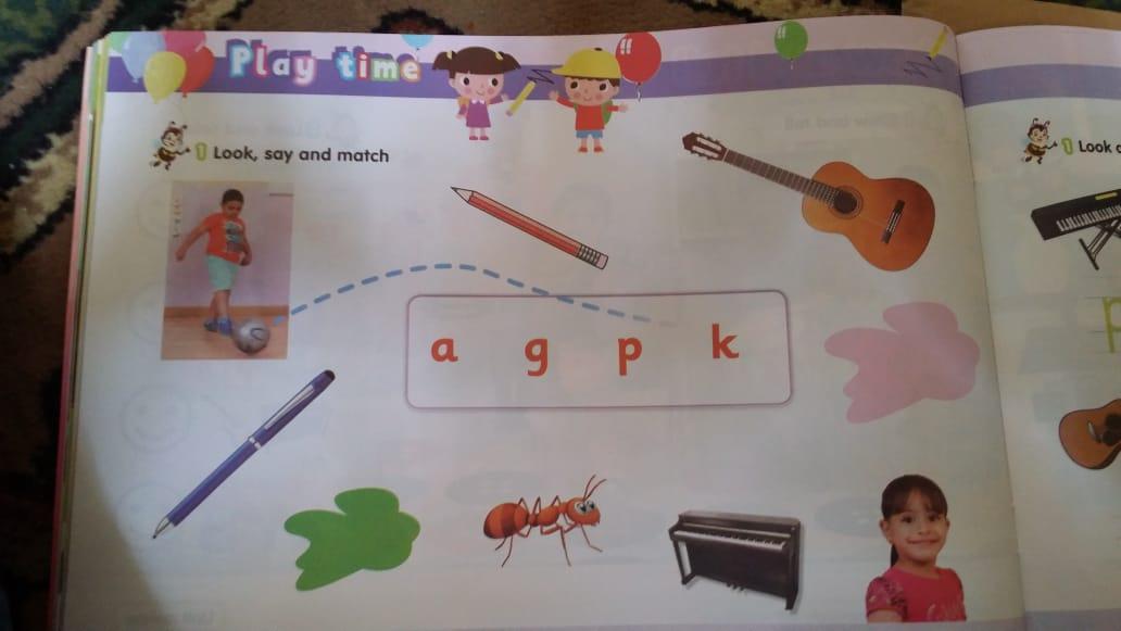 حصريا   الكتاب المدرسي للغة الإنجليزية المستوى الثاني (KG2) 19