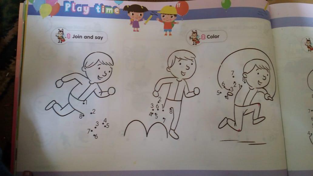 حصريا   الكتاب المدرسي للغة الإنجليزية المستوى الثاني (KG2) 6