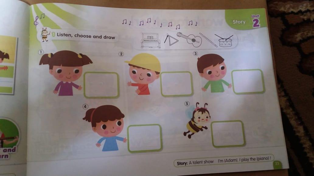 حصريا   الكتاب المدرسي للغة الإنجليزية المستوى الثاني (KG2) 12