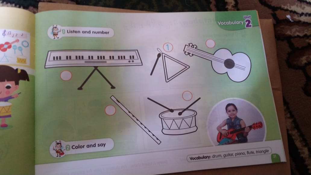 حصريا   الكتاب المدرسي للغة الإنجليزية المستوى الثاني (KG2) 9