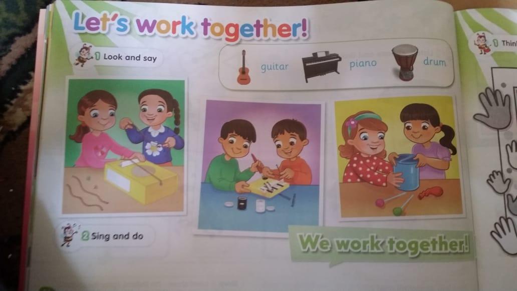 حصريا   الكتاب المدرسي للغة الإنجليزية المستوى الثاني (KG2) 11