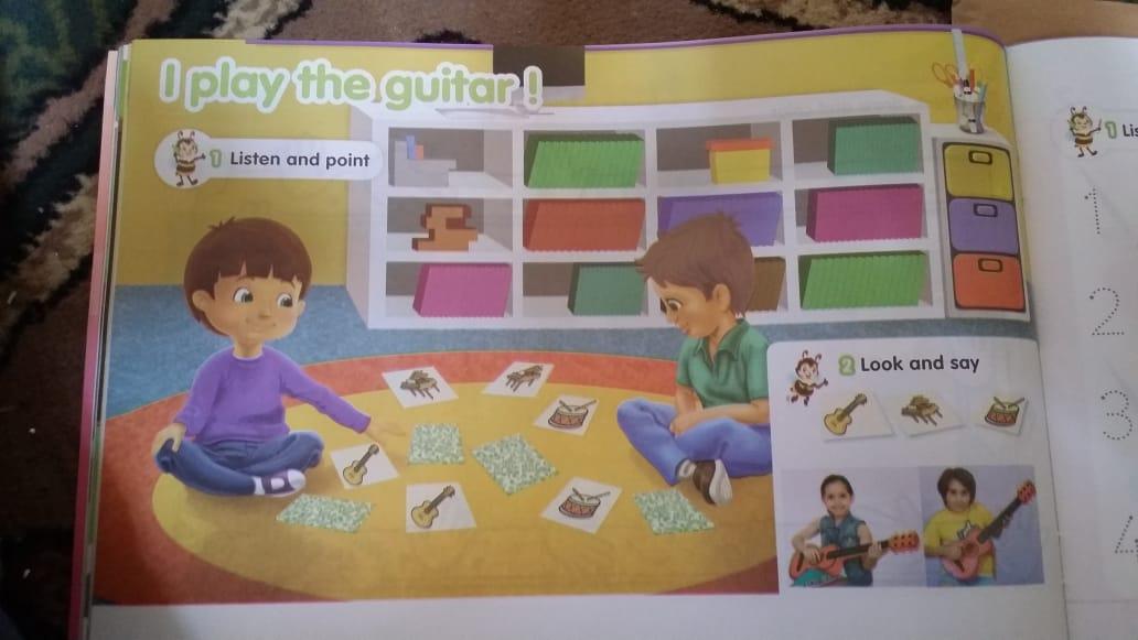حصريا   الكتاب المدرسي للغة الإنجليزية المستوى الثاني (KG2) 13