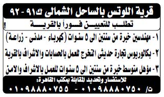 إعلانات وظائف جريدة الوسيط اليوم الاثنين 22/10/2018 3