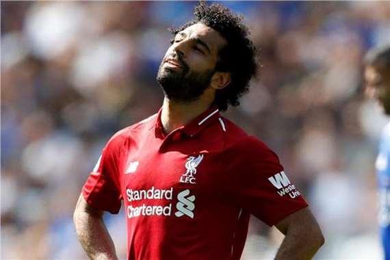"""عاجل وبالصور.. إصابة """"محمد صلاح"""" في تدريبات نادي ليفربول منذ قليل"""