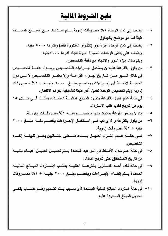 الإسكان تطرح شقق لؤلؤة القاهرة الجديدة.. تعرف على الأسعار وطريقة التقديم بالصور 12