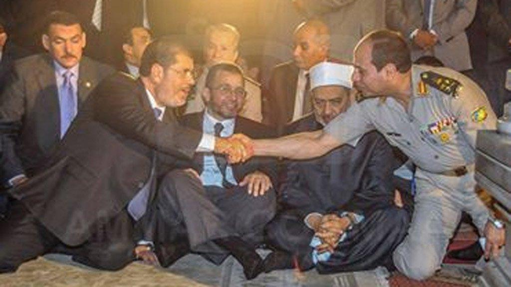 """عاجل.. """"مسلم"""" يكشف مفاجأة حول حقيقة حدوث مصالحة بين السيسي والإخوان"""