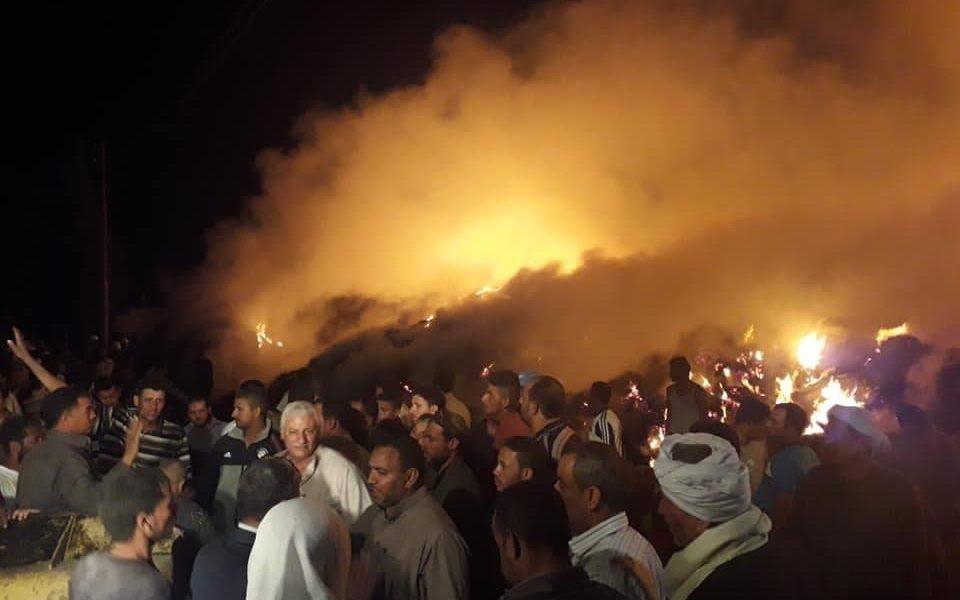 """عاجل.. حريق هائل يضرب """"الإسماعيلية"""".. وبيان رسمي: الحريق مستمر منذ 4 ساعات"""