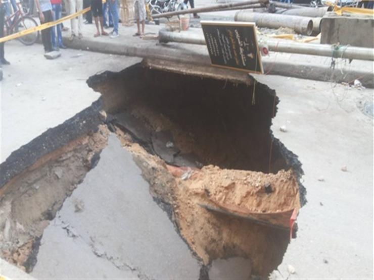 """بالتفاصيل.. """"هبوط أرضي"""" يثير الرعب في الإسكندرية.. ومصادر تكشف عن مفاجأة مدوية"""
