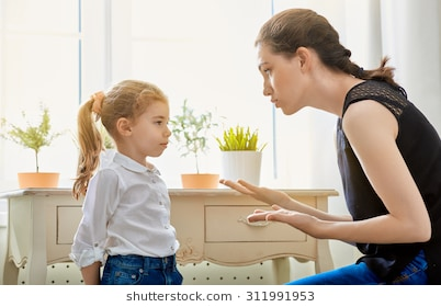 مناقشة الأخطاء مع الطفل