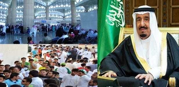 رسميًا| وزارة العمل السعودية تحسم الجدل وتكشف حقيقة إلغاء تحصيل رسوم على مرافقي العمالة الوافدة.. صورة