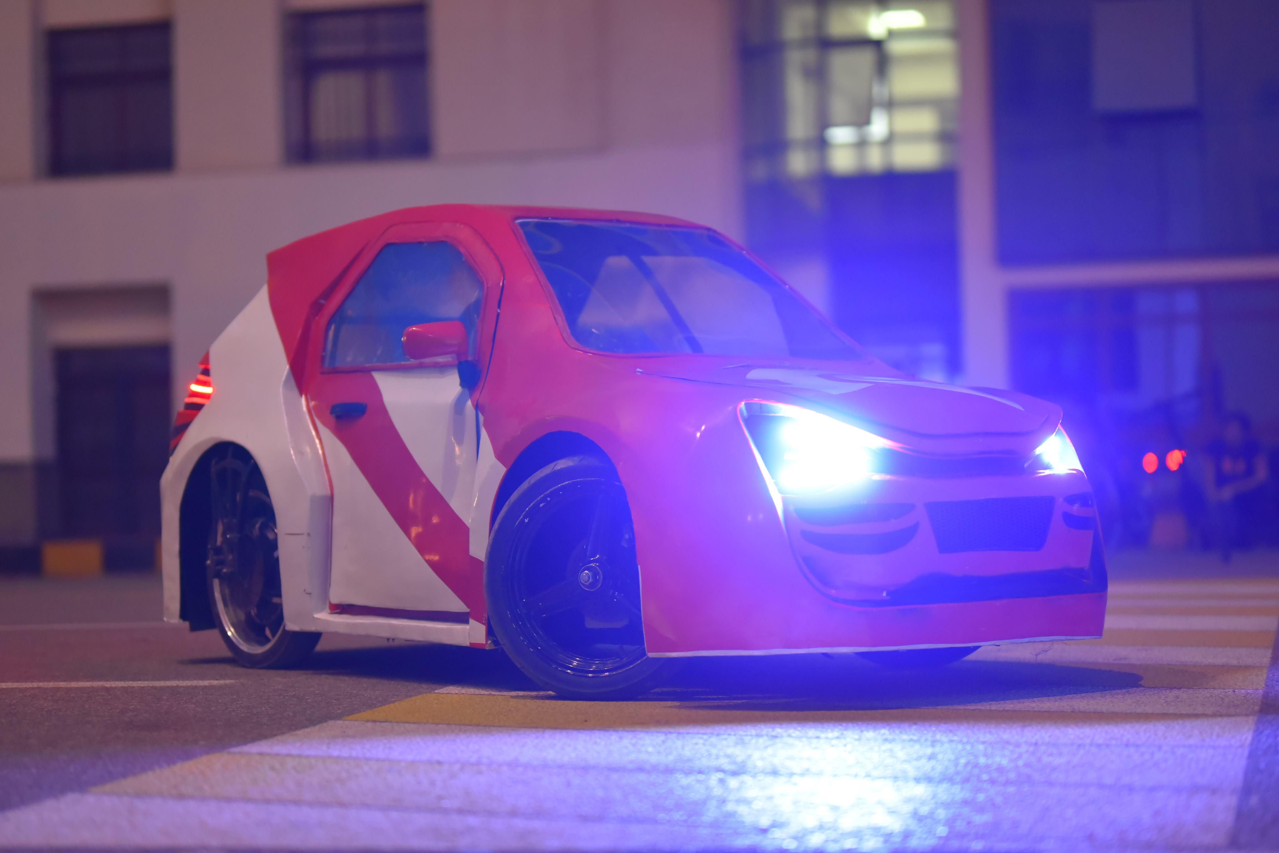 سيارة فريق Kafr El Sheikh Racing ك