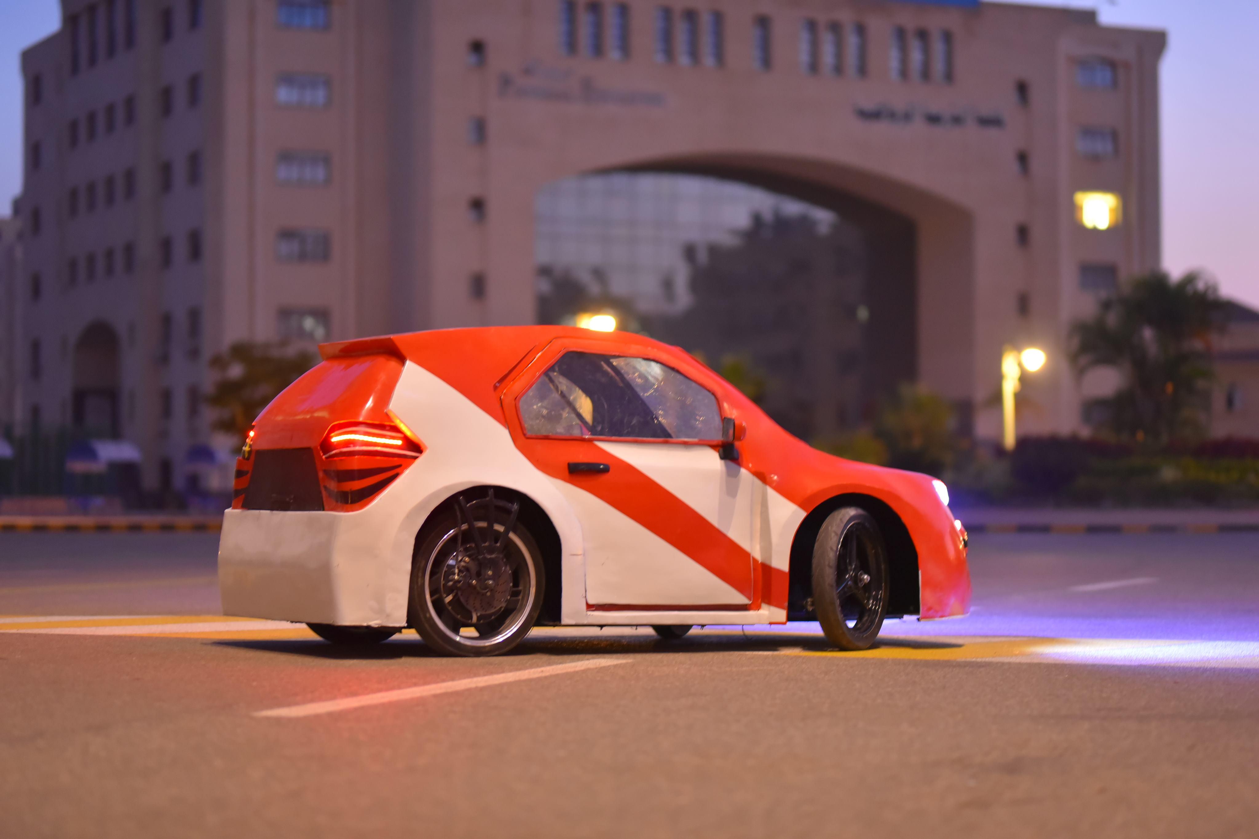سيارة فريق Kafr El Sheikh Racing
