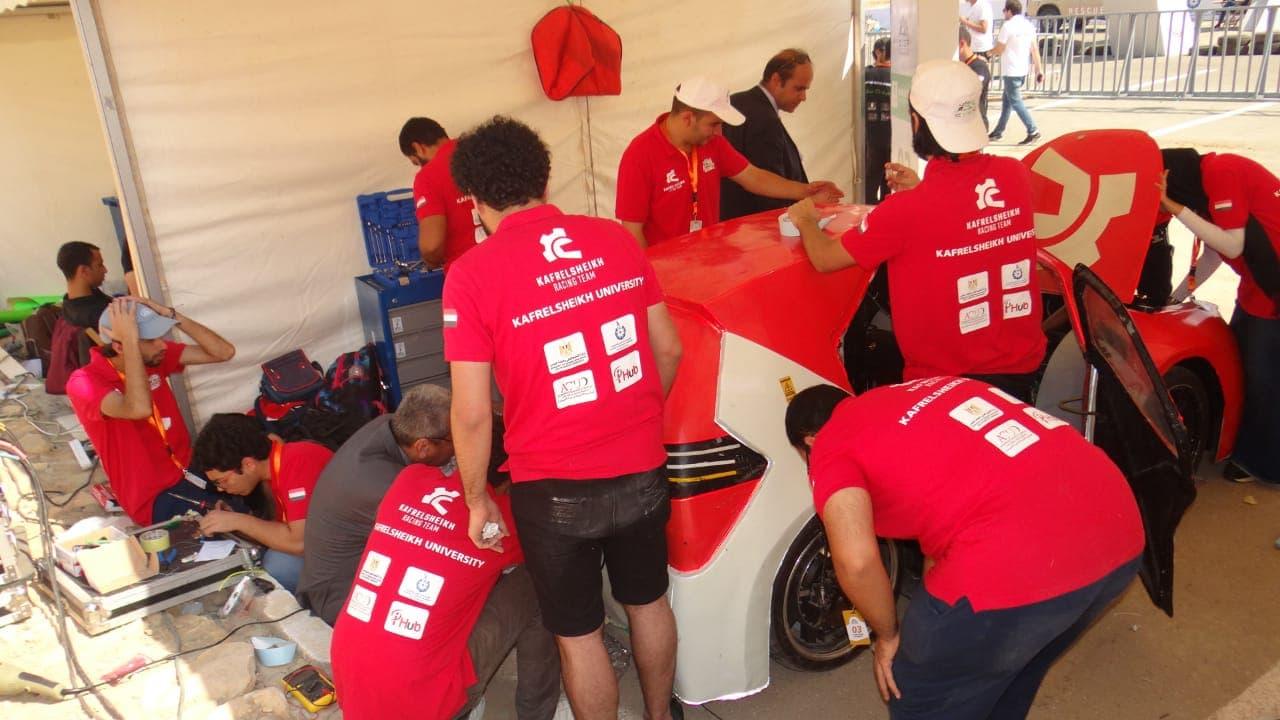 فريق Kafr El Sheikh Racing كلية الهندسة