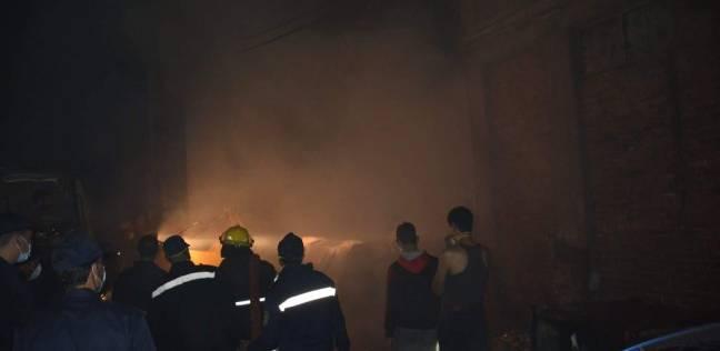 عاجل.. حريق هائل يضرب منطقة حيوية بالإسكندرية.. وتدخل عاجل للقوات المسلحة !!