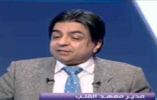 مدير معهد القلب يكشف عن كارثة قوية تهدد حياة المصريين «فيديو»