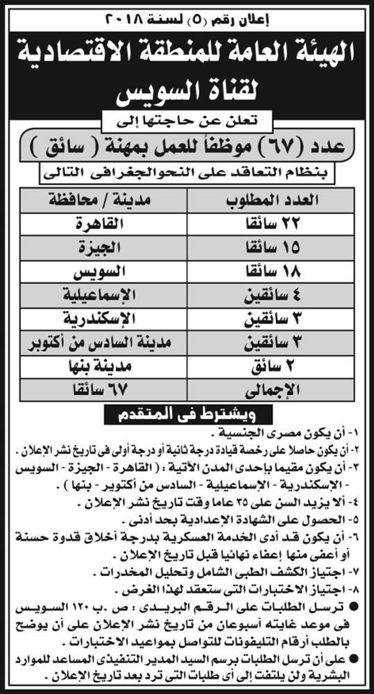 اعلانات وظائف جريدة الاهرام الأسبوعي لجميع المؤهلات 4
