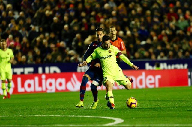 ليفانتي ضد برشلونة