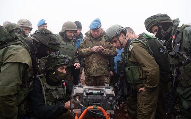 """الجيش الإسرائيلي يفاجئ حزب الله بالصوت والصورة..لقد""""دمرناه"""""""