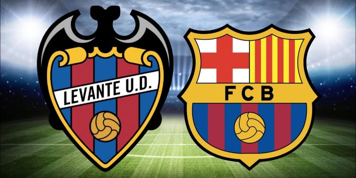 ملخص مباراة ليفانتي ضد برشلونة