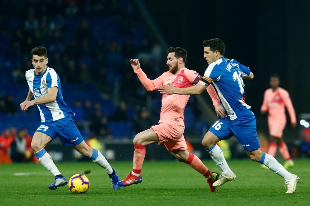 إسبانيول ضد برشلونة