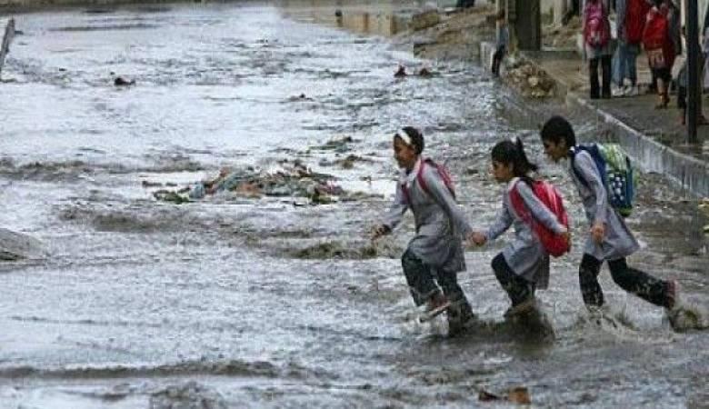 """عاجل.. أول محافظة مصرية تعلن """"تعطيل الدراسة"""" داخل المدارس بسبب سوء الطقس !!"""