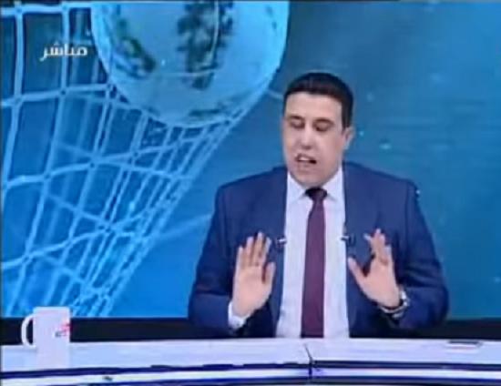 مذيع ينفعل على الهواء ويغلق الخط: «مش عاوز أهلاوية تاني»