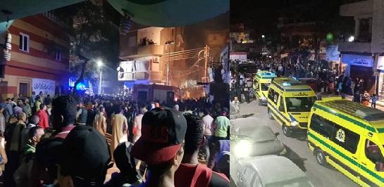 أول بيان أمني بشأن حادثة أتوبيس البدرشين المأساوية.. ومصادر: سيارات الإسعاف تنقل 15 عاملاً