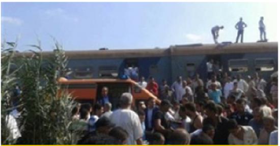 الأم تُضحي بحياتها وتنقذ ابنتها «أميرة 19 سنه» من الدهس أسفل عجلات القطار.. وكاميرات المراقبة ترصد الواقعة