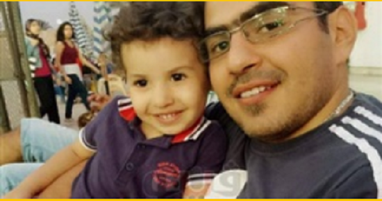 شاهد| أول رد فعل من أسرة الشهيد «رامي هلال» مقدم الأمن الوطني في حادث الدرب الأحمر