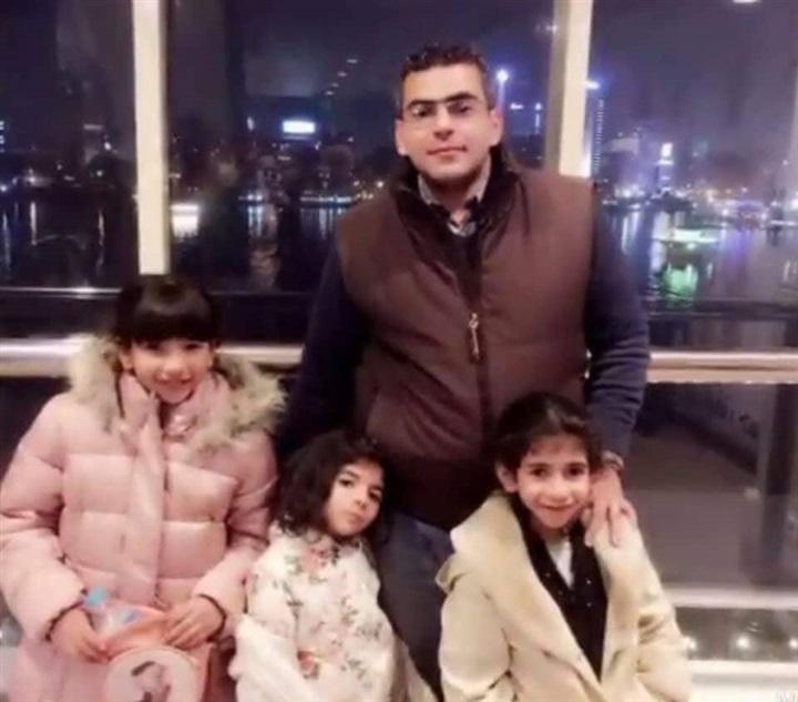 شاهد| أول رد فعل من أسرة الشهيد «رامي هلال» مقدم الأمن الوطني في حادث الدرب الأحمر 1