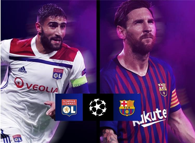 موعد مباراة ليون ضد برشلونة والقنوات الناقلة للمباراة 1