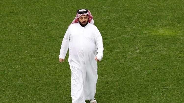 تعليق ساخر لتركي آل الشيخ بعد تأجيل مباراة الأهلى وبيراميدز