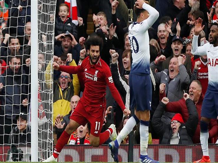 بالصور| نادي ليفربول يحتفل بـ«محمد صلاح» بعد تألقه أمام بورتو البرتغالي