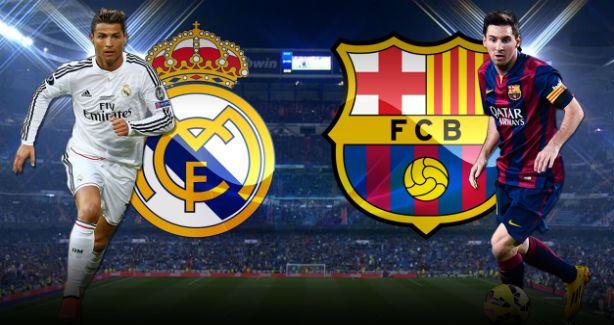 موعد مباراة ريال مدريد ضد برشلونة والقنوات الناقلة للمباراة