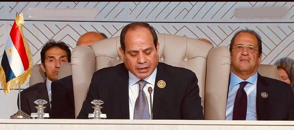 بالفيديو| شاهد ماذا قال الرئيس السيسي عن الجولان وفلسطين والإرهاب .. اليوم