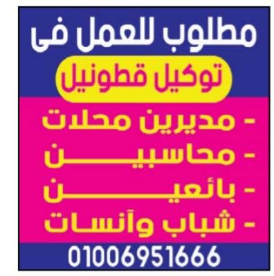 إعلانات وظائف جريدة الوسيط اليوم الجمعة 15/3/2019 31