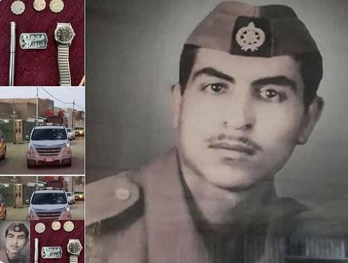 """""""بالصور"""" وزوجته تنتظره منذ فقدانه""""  جندي عراقي قتل في إيران والسيول تعيده إلى بلده بعد 37 سنه وبيان من السطات العراقية بالتفاصيل"""
